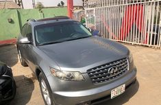 Foreign Used Infiniti FX 2005 Model Gray