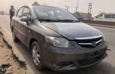 Nigeria Used Honda City 2008 Model Gray