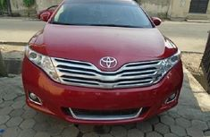 Nigeria Used Toyota Venza 2011 Model Red