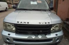 Foreign Used Land Rover Range Rover 2006 Model Silver