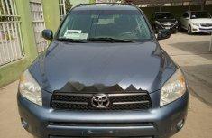 Nigeria Used Toyota RAV4 2006 Model Blue