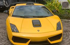 Foreign Used Lamborghini Gallardo 2012 Model Yellow