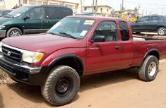 Foreign Used Toyota Tacoma 2003 Model Red