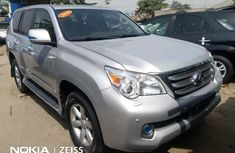 Foreign Used Lexus GX 2011 Model Silver