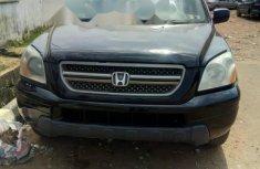 Nigeria Used Honda Pilot 2004 Model Black