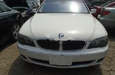 Nigeria Used BMW 7 Series 2006 Model White