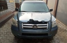 Foreign Used Honda Pilot 2007 Model Blue