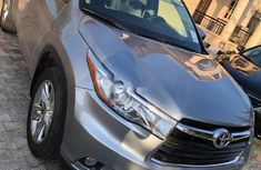Foreign Used Toyota Highlander 2014 Model Silver