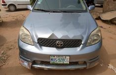 Nigeria Used Toyota Matrix 2003 Model Blue