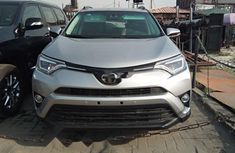 Foreign Used Toyota RAV4 2017 Model Silver