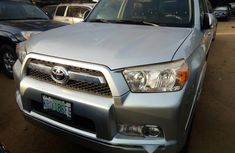 Nigeria Used Toyota 4-Runner 2012 Model Silver