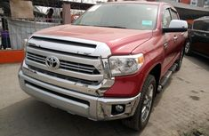 Foreign Used Toyota Tundra 2015 Model Red