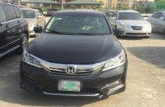 Nigeria Used Honda Accord 2016 Model Black