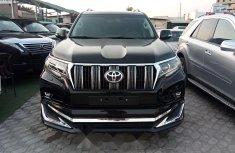Foreign Used Toyota Land Cruiser Prado 2019 Model Black