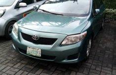 Nigeria Used Toyota Corolla 2008 Model Silver