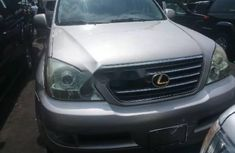 Foreign Used Lexus GX 2005 Model Gold