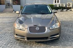 Foreign Used Jaguar XF 2009 Model Gold