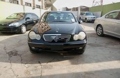 Nigeria Used Mercedes-Benz C240 2001 Model Black