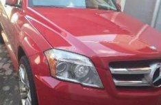 Nigeria Used Mercedes-Benz GLK 2013 Model Red