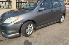 Foreign Used Toyota Matrix 2004 Model Gray