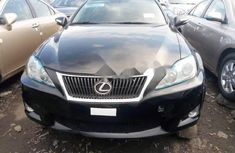 Foreign Used Lexus IS 2011 Model Black