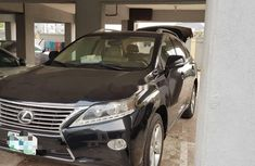 Nigeria Used Lexus RX 2013 Model Black
