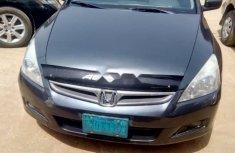 Nigeria Used Honda Accord 2007 Model Gray