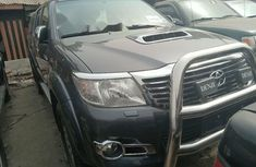 Foreign Used Toyota Hilux 2015 Model Gray