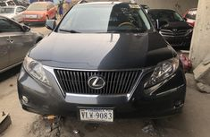 Foreign Used Lexus RX 350 2011 Model Gray for Sale