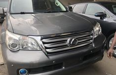 Foreign Used Lexus GX 460 2011 Model Gray for Sale