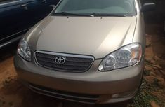 Foreign Used Toyota Corolla 2004 Model Silver for Sale