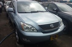 Foreign Used Lexus RX330 2005 Model Blue for Sale