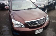 Foreign Used Lexus RX 350 2008 Model Brown for Sale