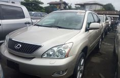 Foreign Used Lexus RX330 2005 Model Silver for Sale