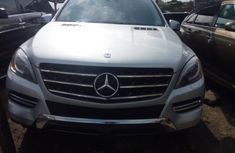 Foreign Used Mercedes Benz ML350 2013 Model Silver