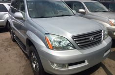 Foreign Used Lexus GX470 V8 2006 Model Silver