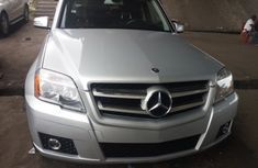 Foreign Used Mercedes Benz GLK350 4MATIC 2010 Model Silver