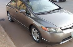 Nigeria Used Honda Civic 2007 Model Silver for Sale