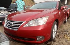 Foreign Used Lexus ES 350 2011 Model Red for Sale