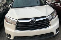 Foreign Used Toyota Highlander XLE 2014 Model White
