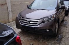 Foreign Used Honda CR-V 2013 Model Gray for Sale