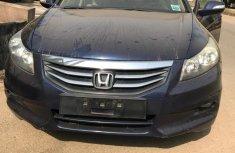 Nigeria Used Honda Accord 2012 Model Blue for Sale