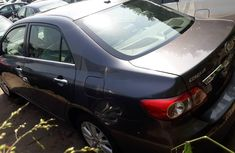 Foreign Used Toyota Corolla 2010 Model Gray