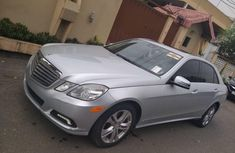 Foreign Used Mercedes-Benz E350 2010 Model Silver