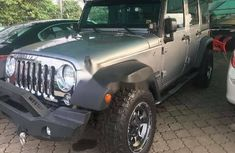 Foreign Used Jeep Wrangler 2017 Model Gray