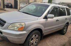 Nigeria Used Honda Pilot 2004 Model Silver