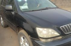 Nigeria Used Lexus RX 2002 Model Black