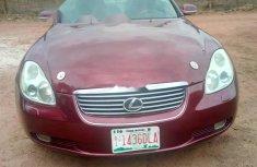Nigeria Used Lexus SC 2004 Model Red