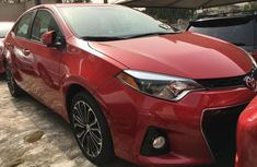 Foreign Used Toyota Corolla 2016 Model Red