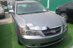 Foreign Used Hyundai Sonata 2008 Model Silver